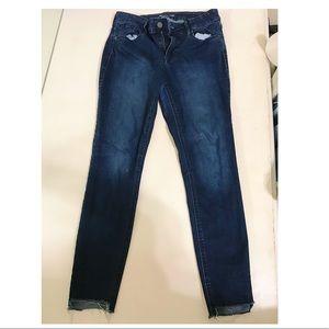 Old Navy Rockstar Super Skinny Ankle Jeans